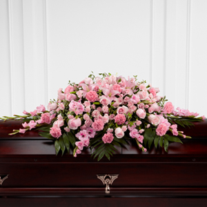 The Ftd 174 Sweetly Rest Casket Spray S20 4481