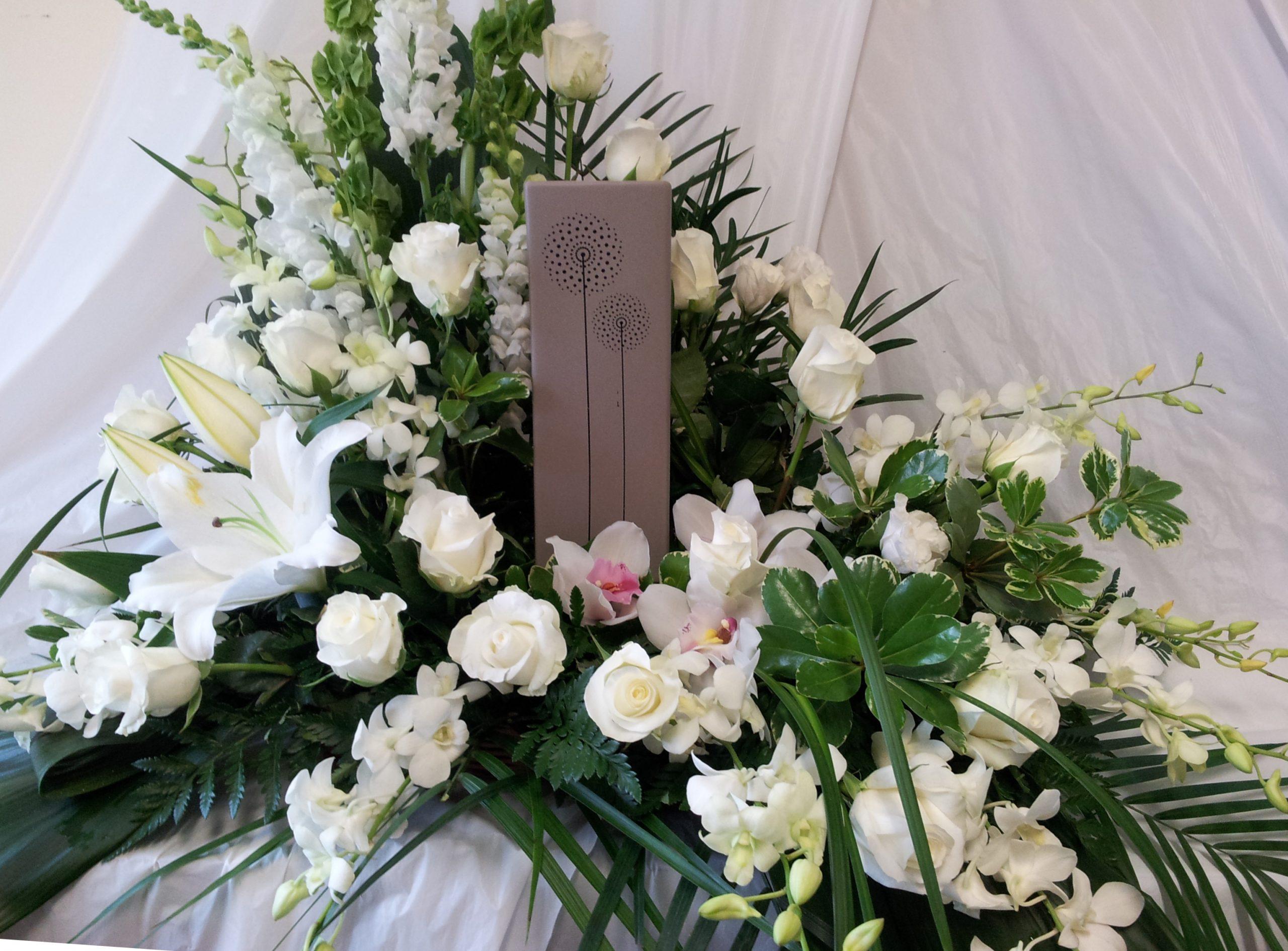 Condoléances - Arrangements d'urnes SUBSYM-0031