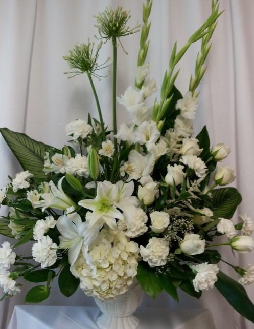 Condoléances - Corbeilles / Arrangements funéraire SUBSYM-0051