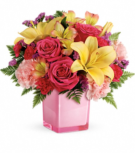 Bouquet joyeux et coloré