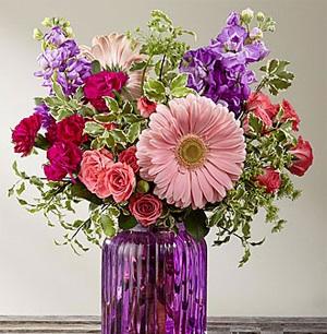 La prose pourpre de FTD® G11 | Sublime Fleuriste