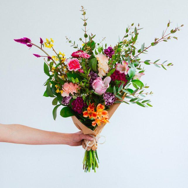 Mix estival - Fleurs coupées d'été SUBFC-027 | Sublime Fleuriste Granby