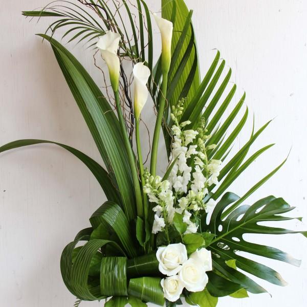 souhaits de sympathies par les fleurs