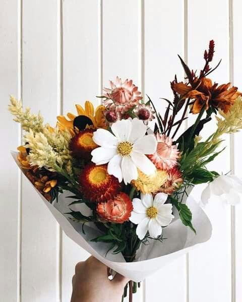 fleurs automne bouquet
