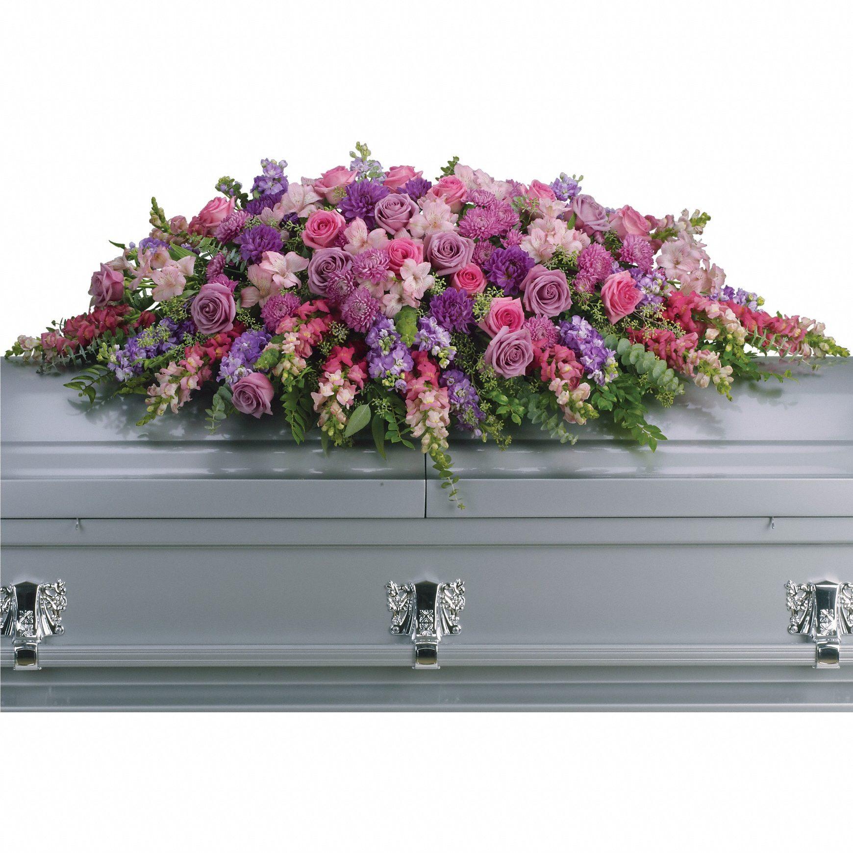 Condoléances - Dessus de cercueil T235-2A